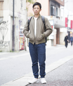 【SNAP】街はおしゃれの教科書だ!<br />前田 亮くん・会社員