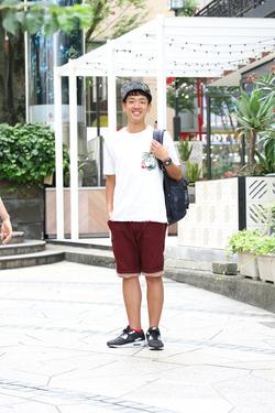 【SNAP JACK】<br />夏全開のアーバンサーフスタイル!<br />寺門 秀くん・明治大学